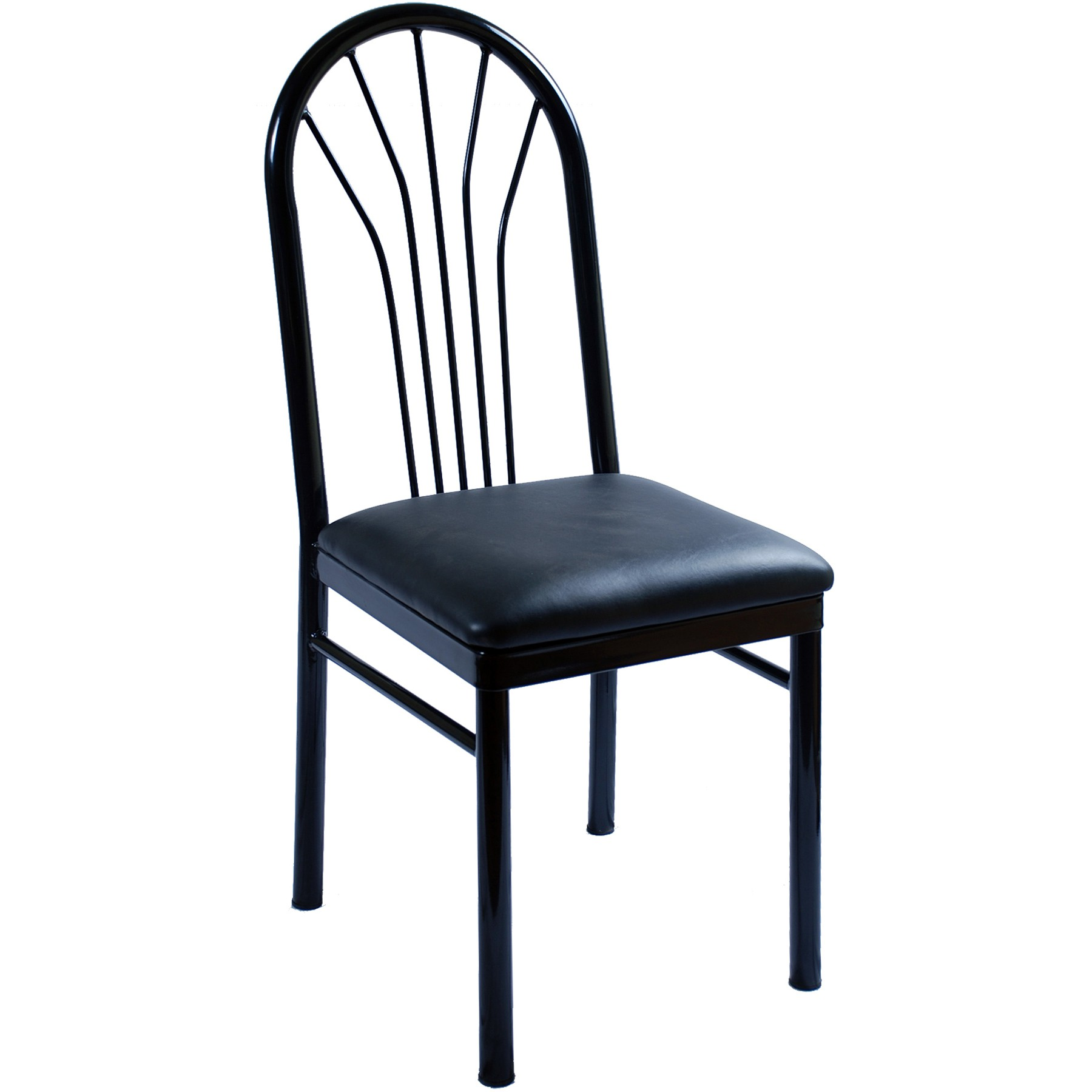 Fanback metal restaurant chair for Restaurant furniture