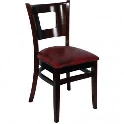 Duna Restaurant Wood Chair