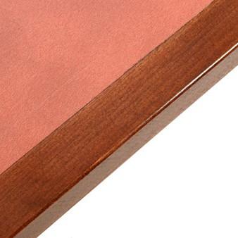 Laminate Inlay And Wood Edge