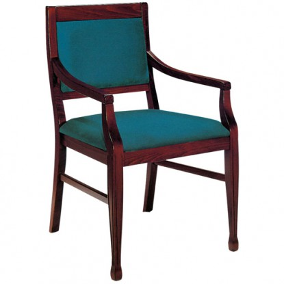 Lobby Wood Arm Chair