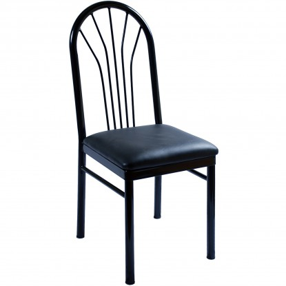 Fanback Metal Restaurant Chair