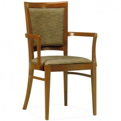 Berry Fully Upholstered Arm Chair