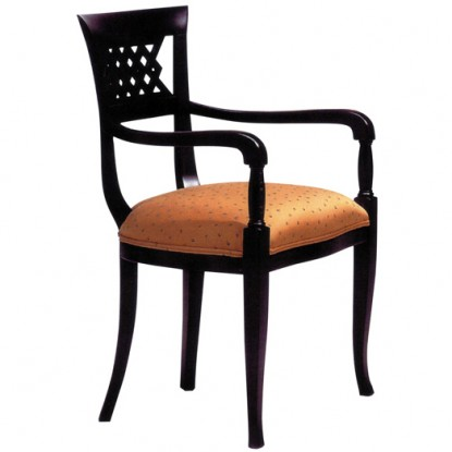 Woven Beidermeir Arm Chair