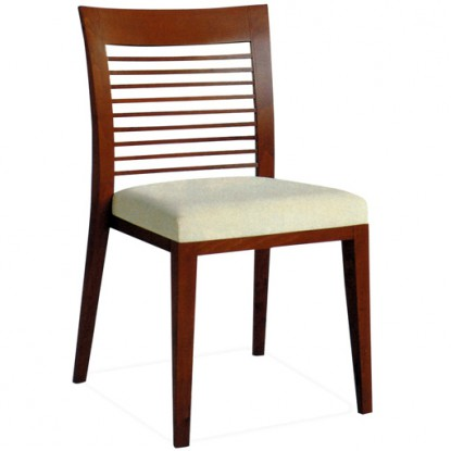 Harp Ladder Back Wood Restaurant Chair