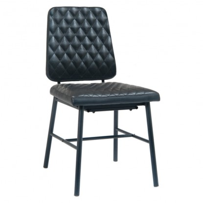 Dalton Padded Metal Chair