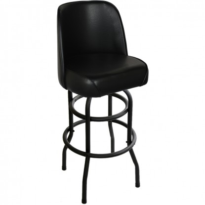 Double Ring Swivel Bar Stool