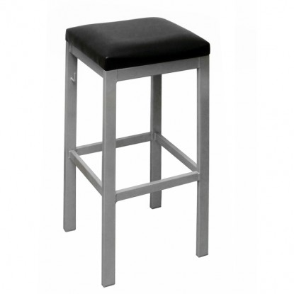 Metal Frame Backless Bar Stool
