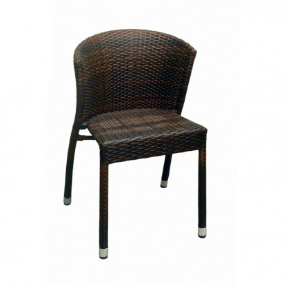 Fabia Woven Rattan Patio Chair