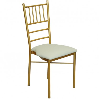 Gold Metal Chiavari Ballroom Chair