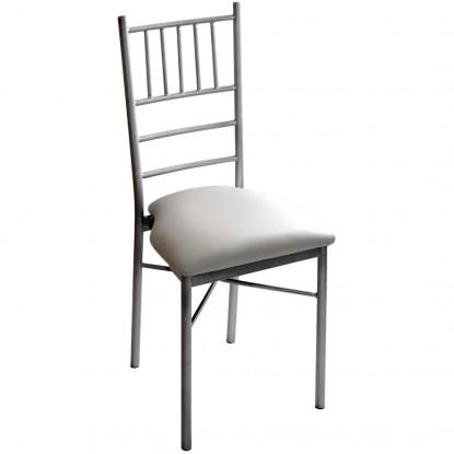 White Metal Chiavari Ballroom Chair