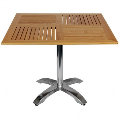 Teak Table Top with Base
