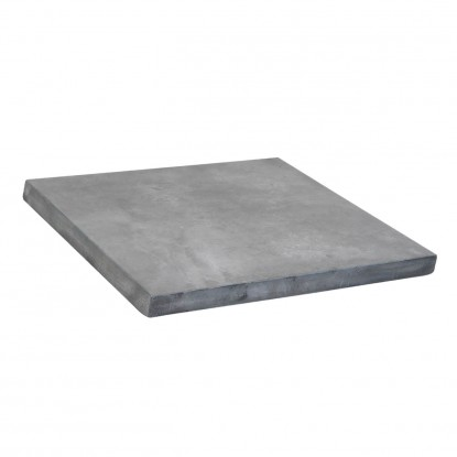 Outdoor Resin Table Top in Industrial Grey Finish