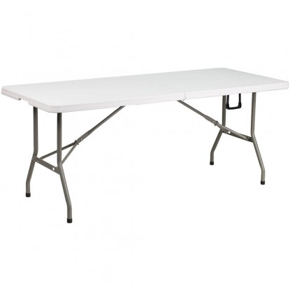 Bi-Fold Granite Plastic Folding Table