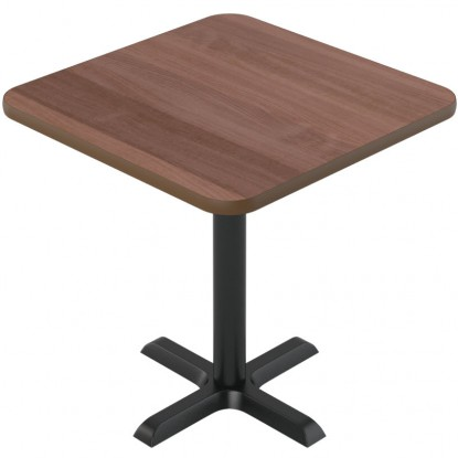 Laminate Reversible Restaurant Table In Oak / Walnut