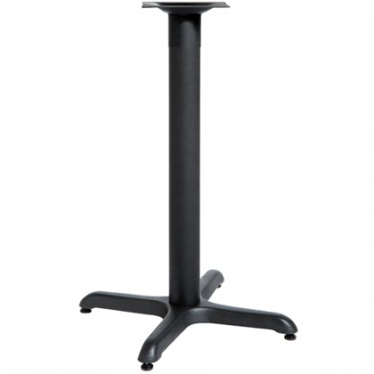 """X Prong Table Base - 30"""" Table Height"""