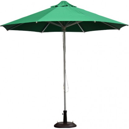 Aluminum Patio Umbrella - Green