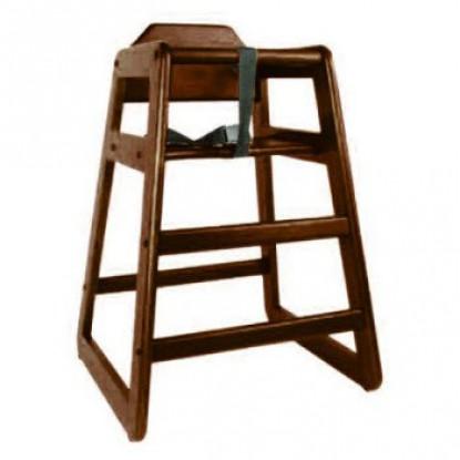 Wood High Restaurant Chair