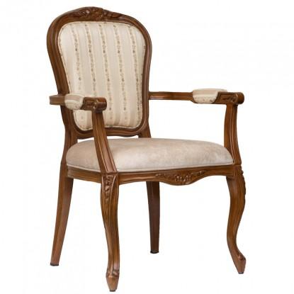 Cecile Lounge Style Senior Living Aluminum Arm Chair