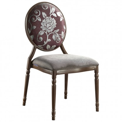 Clara Upholstered Aluminum Chair