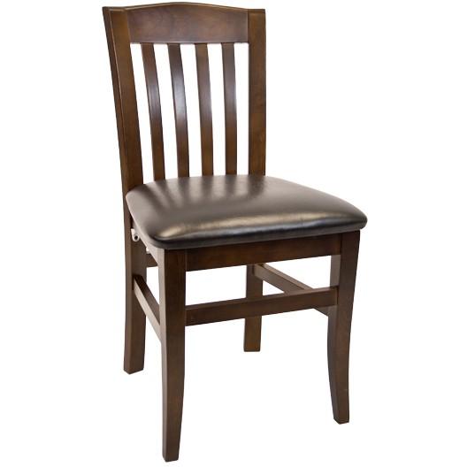 Vertical Slat Beechwood Chair