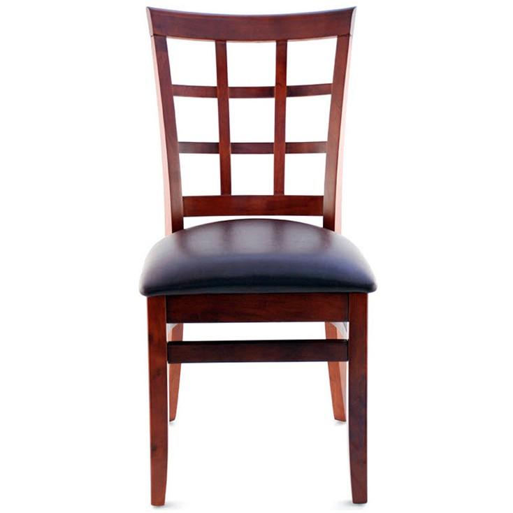 Premium Us Made Window Back Wood Chair