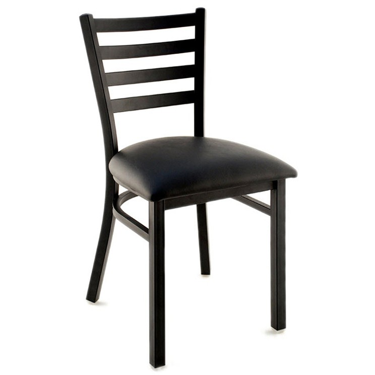 metal ladder back restaurant chair