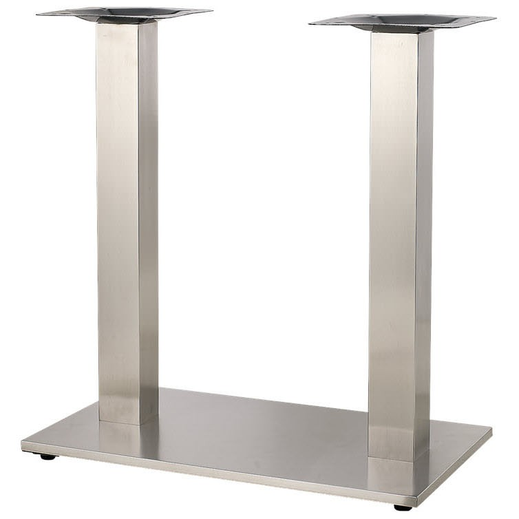 Square Stainless Steel Table Base ...