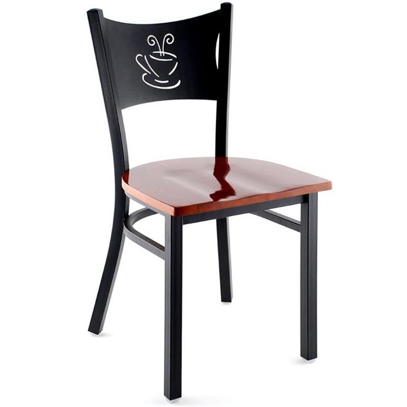 Metal Coffee Cup Restaurant Chair