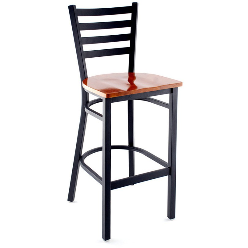 Ladder Back Bar Stool Small Ladder Back Bar Stool At  : 110 bs bf ws ch from chipoosh.com size 809 x 809 jpeg 48kB