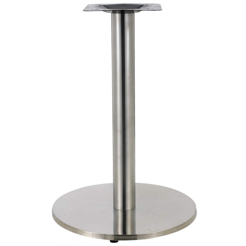 Round Stainless Steel Table Bases 30 Quot Table Height