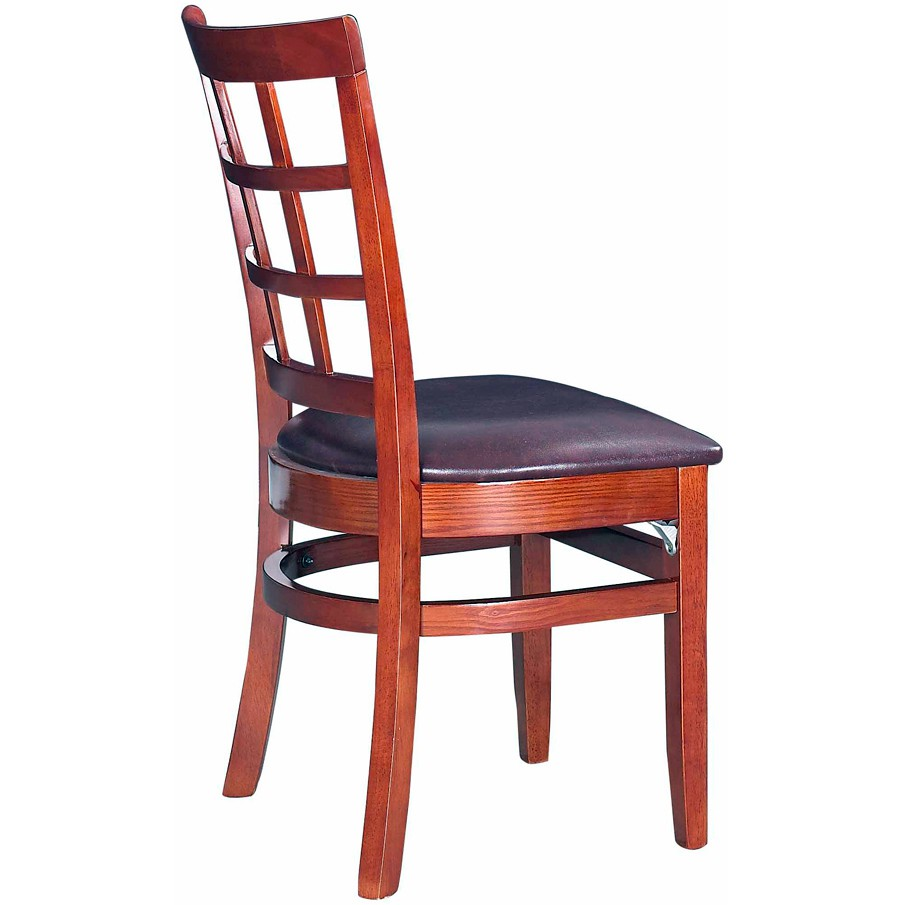 Window back restaurant chair