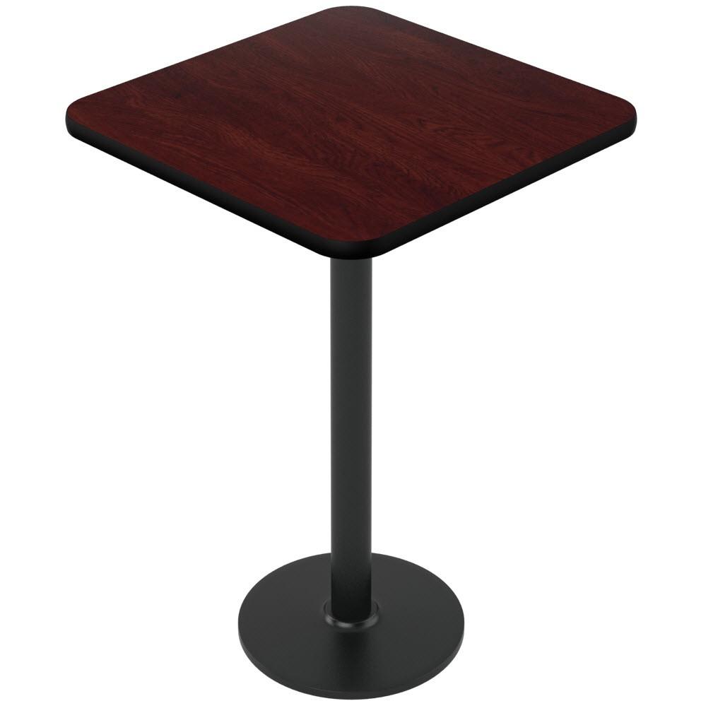 Captivating ... Laminate Reversible Restaurant Table In Black / Mahogany ...