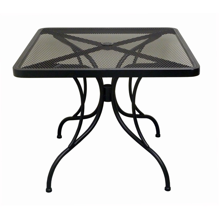 Metal Patio Tables   Square