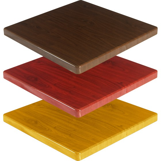 Resin Table Tops - Restaurant resin table tops
