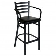 Ladder Back Metal Bar Stool With Arms  sc 1 st  Restaurant Furniture & Restaurant Bar Stools \u0026 Commercial Bar Stools for Sale islam-shia.org