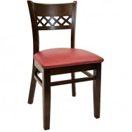 Lauren Beechwood Restaurant Chair