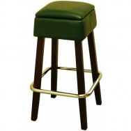 Modern Backless Wood Restaurant Bar Stool