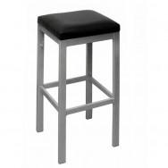 metal frame backless bar stool