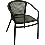 Superior Rosa Metal Patio Chair With Arms