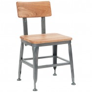 industrial and modern tolix metal restaurant chairs