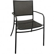 Garden Patio Chair with Armrest