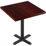 Premium Solid Wood Plank Restaurant Table