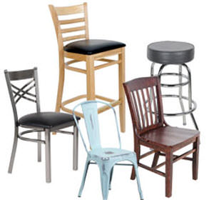 Such Furniture Items Designed For Residential Use Are Normally Constructed  Of 20 To 22 Gauge Steel Frames. Metal Bar Stools And Metal Restaurant Chairs,  ...