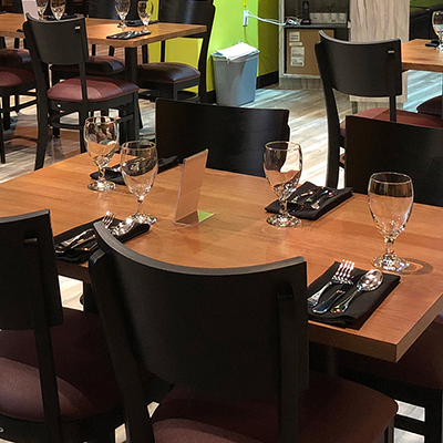 Contemporary Indian Restaurant Style