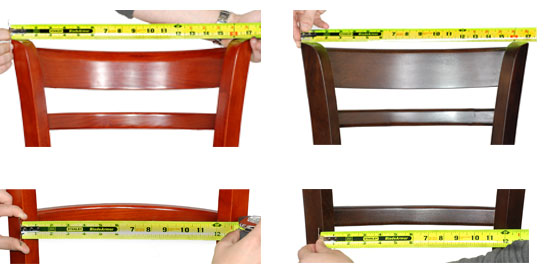 Comfort comparison for restauraut furniture