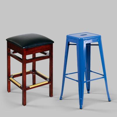 backless restaurant bar stools