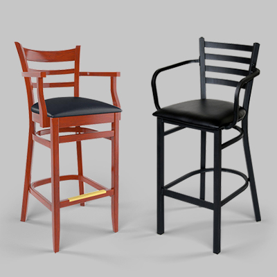 bar stools with arm rests