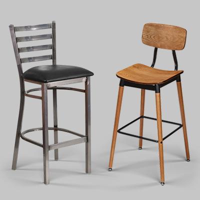 industrial restaurant bar stools