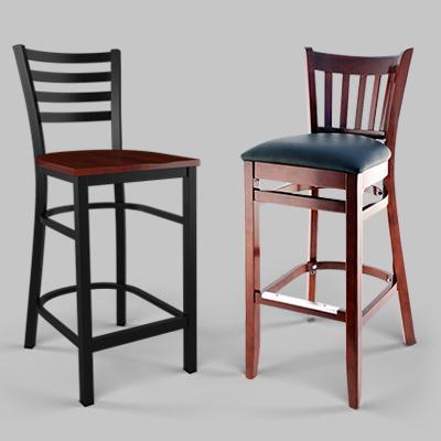 traditional restaurant bar stools