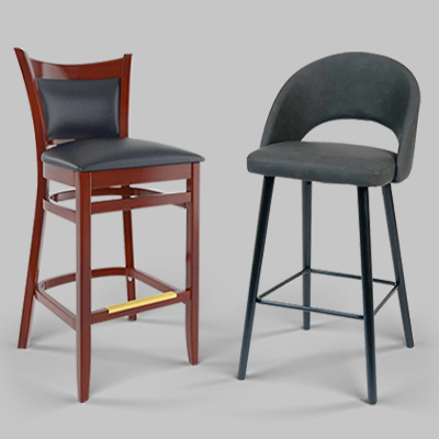 upscale restaurant bar stools